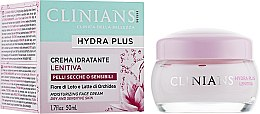 Духи, Парфюмерия, косметика Крем для лица - Clinians Hydra Plus Moisturizing Face Cream