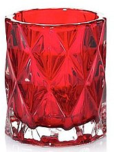 Духи, Парфюмерия, косметика Подсвечник для свечи, 7.5 х 6.5 см, красный - Yankee Candle Red Fractal Tea Light Holder