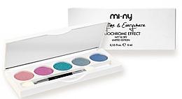 Духи, Парфюмерия, косметика Тени для век - Mi-Ny Duochrome Effect Eyeshadow Palette
