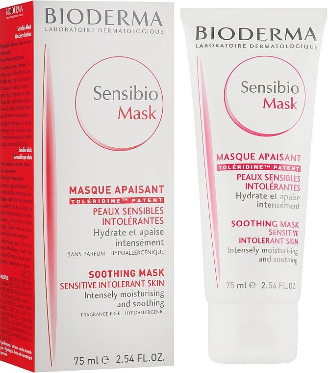 Маска успокаивающая - Bioderma Sensibio Mask Soothing Mask