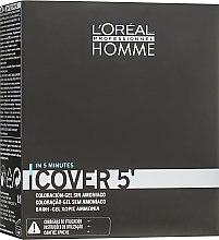 Парфумерія, косметика Фарбувальний гель для волосся - L'Oreal Professionnel Cover 5 (3x50ml)