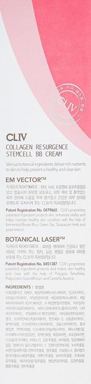 Восстанавливающий BB крем SPF 50 с эффектом лифтинга - CLIVCollagen Resurgence Stemcell BB Cream — фото N3