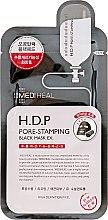 Духи, Парфюмерия, косметика Тканевая маска - Mediheal H.D.P. Pore-Stamping Black Mask EX