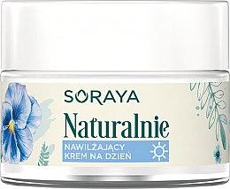 Духи, Парфюмерия, косметика Увлажняющий дневной крем для лица - Soraya Naturalnie Moisturizing Day Cream