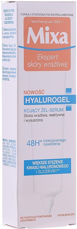 Дневной крем с сильным увлажняющим эффектом - Mixa Sensitive Skin Expert Hyalurogel