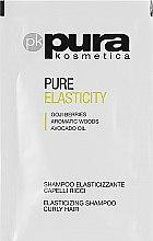 Духи, Парфюмерия, косметика Шампунь для вьющихся волос - Pura Kosmetica Pure Elasticity (мини)