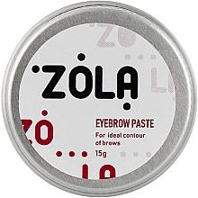 Духи, Парфюмерия, косметика Паста для бровей - Zola Eyebrow Paste