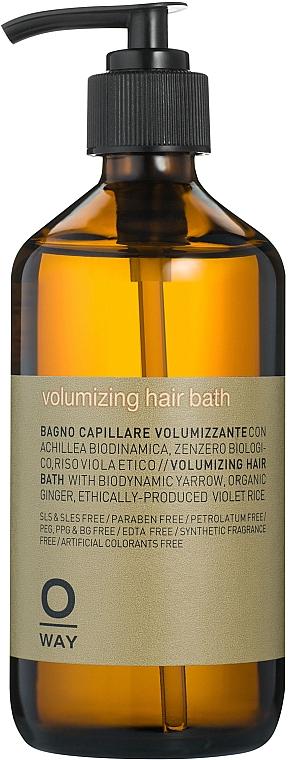 Шампунь для объема волос - Oway Volumizing Hair Bath
