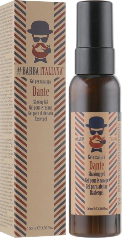Гель для бритья - Barba Italiana Dante