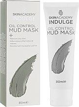 Маска для лица грязевая себорегулирующая - Skin Academy Indulge Oil Control Mud Mask — фото N1