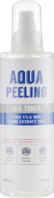 Пилинг-тонер с AHA-кислотами - A'pieu Aqua Peeling Aha Toner