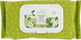 Духи, Парфюмерия, косметика Салфетки очищающие с экстрактом зеленого чая - The Saem Healing Tea Garden Green Tea Cleansing Tissue