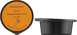Духи, Парфюмерия, косметика Капсульная маска для лица на основе экстракта моркови - Innisfree Capsule Recipe Pack Carrot