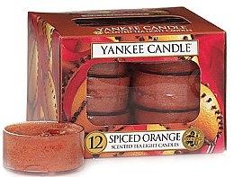 """Духи, Парфюмерия, косметика Чайные свечи """"Пряный апельсин"""" - Yankee Candle Scented Tea Light Candles Spiced Orange"""