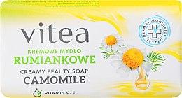 Духи, Парфюмерия, косметика Крем-мыло ромашковое - Vitea Cream Soap