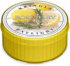 Духи, Парфюмерия, косметика Чайная свеча - Kringle Candle Rosemary Lemon Daylight