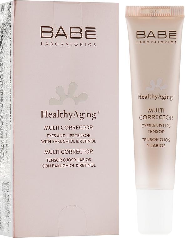 Мультикорректор с антивозрастным эффектом для кожи вокруг глаз и губ - Babe Laboratorios Healthy Aging Multi Corrector