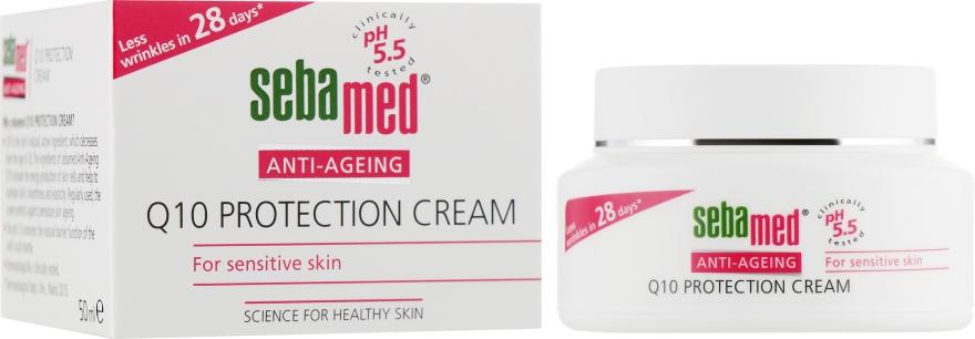 Крем против морщин с коэнзимом Q10 - Sebamed Anti-Ageing Q10 Protection Cream