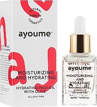 Духи, Парфюмерия, косметика Масло для лица увлажняющее - Ayoume Moisturizing & Hydrating Face Oil With Olive