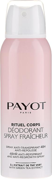 Дезодорант-антиперспирант - Payot Rituel Corps 48H Antiperspirant Alcohol Free