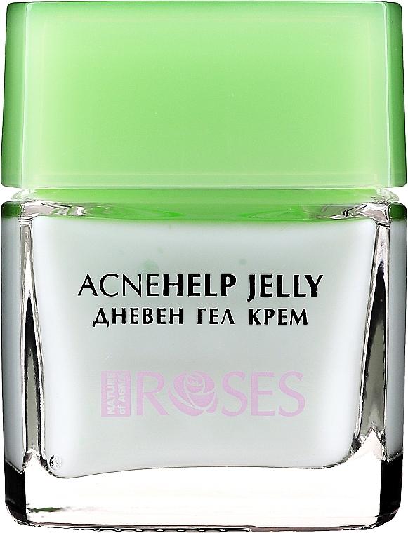 Дневной крем-гель с маслом чайного дерева - Nature of Agiva Roses Acnehelp Jelly Daily Cream