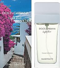 Dolce&Gabanna Light Blue Escape to Panarea - Туалетна вода — фото N2