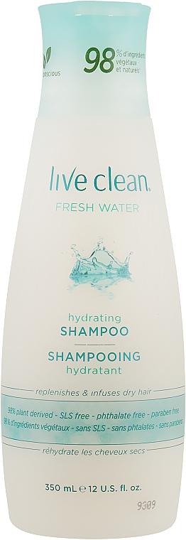 Шампунь увлажняющий - Live Clean Fresh Water Moisturizing Shampoo