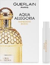 Парфумерія, косметика Guerlain Aqua Allegoria Mandarine Basilic - Туалетна вода (пробник)