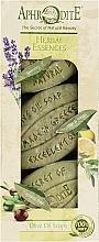 Духи, Парфюмерия, косметика Подарочный набор - Aphrodite Herbal Essences (soap/3x100g)