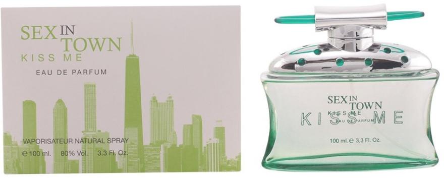 Concept V Design Sex In Town Kiss Me - Парфюмированная вода