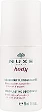 Парфумерія, косметика Кульковий дезодорант - Nuxe Body Long-Lasting Deodorant