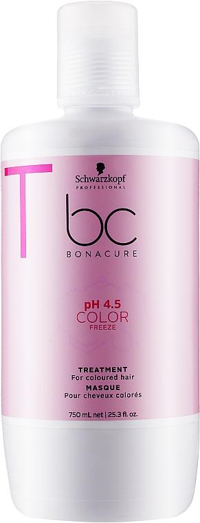 Маска для окрашенных волос - Schwarzkopf Professional BC Color Freeze pH 4.5 Treatment