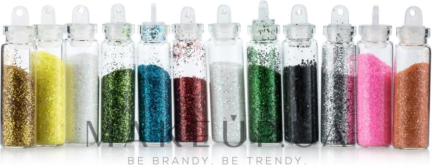 Блестки для ногтей, мелкие, цветные - Avenir Cosmetics