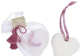 """Духи, Парфюмерия, косметика Ароматизатор в форме керамического сердца """"Льняной цветок"""" - Collines de Provence"""