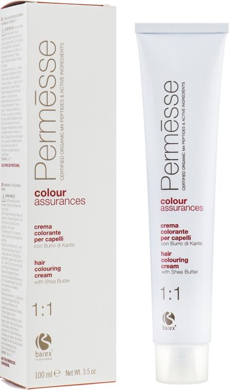 Крем-краска для волос с маслом ши - Barex Italiana Permesse Colour Assurances 1:1