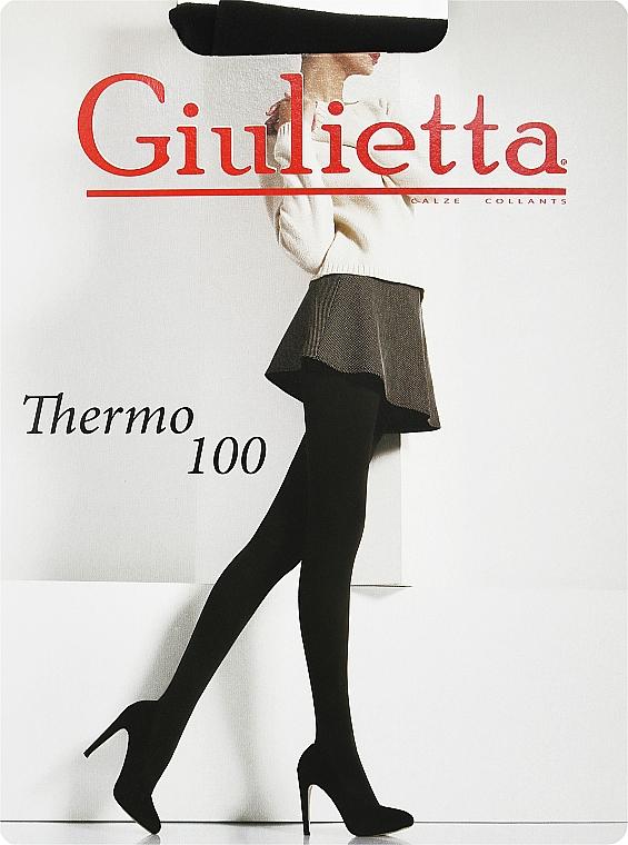 """Колготки для женщин """"Thermo"""" 100 Den, nero - Giulietta"""