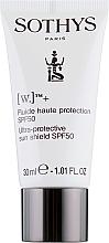 Духи, Парфюмерия, косметика Защитная эмульсия для чувствительных зон SPF50 - Sothys Sensitive Zones Protective Fluid