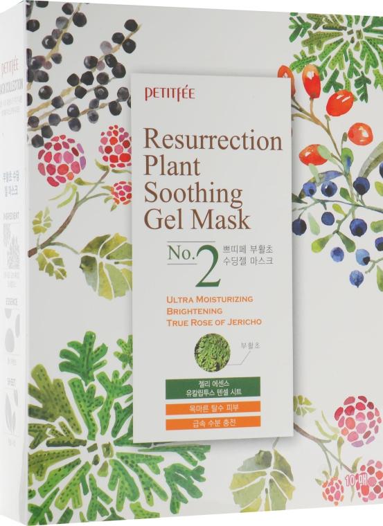 Увлажняющая маска для лица для тусклой и уставшей кожи - Petitfee&Koelf Resurrection Plant Soothing Gel Mask