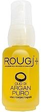 Парфумерія, косметика Арганова олія для обличчя, тіла й волосся - Rougj+ Pure Argan Oil