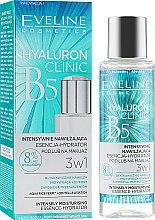 Парфумерія, косметика Інтенсивно зволожувальна есенція-гідратор - Eveline Cosmetics Hyaluron Clinic Intensely Moiturizing Essence Hydrator 3in1