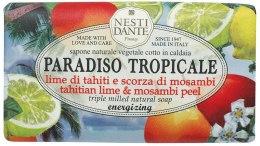 """Духи, Парфюмерия, косметика Мыло """"Лайм и мангустин"""" - Nesti Dante Paradiso Tropicale Tahitian Lime & Mosambi Peel Soap"""