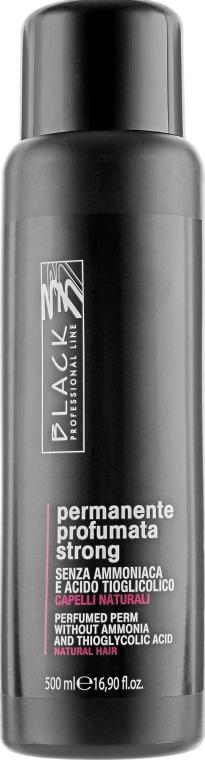 "Перманент химзавивка парфюмированная без аммиака для натуральных волос ""Strong"" - Black Professional Line"