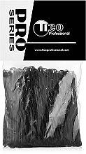 Духи, Парфюмерия, косметика Заколки для волос волнистые 60мм, черные - Tico Professional