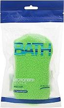 Духи, Парфюмерия, косметика Мочалка банная, салатовая - Suavipiel Microfiber Bath Sponge Extra Soft