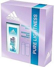 Парфумерія, косметика Adidas Pure Lightness - Набір deo/75ml+spray/150ml)