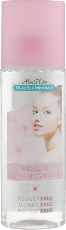 Очищающая мицеллярная вода для лица - Mon Platin DSM Micellar Cleansing Water