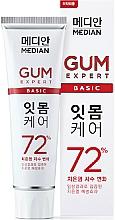 Духи, Парфюмерия, косметика Зубная паста для профилактики заболеваний десен - Median Gum Expert Basic 72%