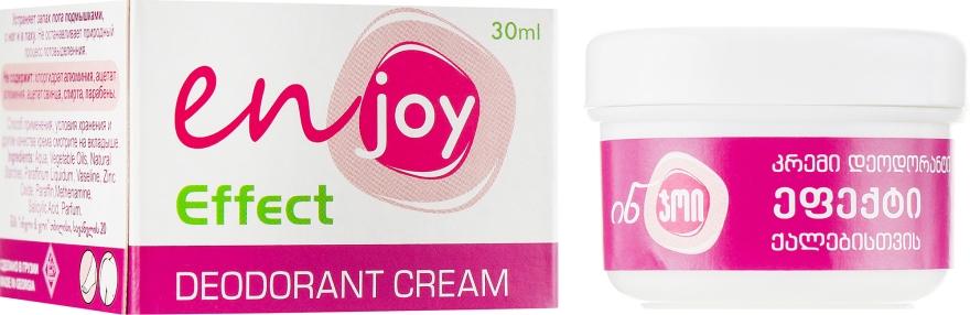 Эко-крем-дезодорант - Enjoy & Joy For Women Deodorant Cream