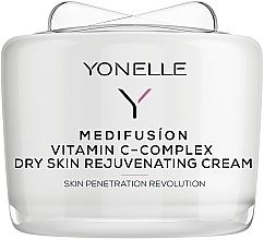 Духи, Парфюмерия, косметика Омолаживающий крем с витамином C - Yonelle Medifusion Vitamin C-Complex Dry Skin Rejuvenating Cream
