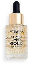 Духи, Парфюмерия, косметика Праймер для лица - Revolution Pro 24k Priming Serum